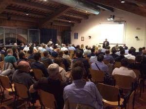 La riunione del Cantiere civico per la Provincia di Vicenza che si è svolta a Costabissara.