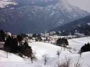 Tonezza del Cimone sotto la neve