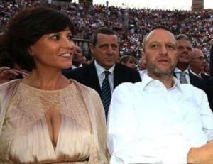 La senatice Patrizia Bisinella e il sindaco Flavio Tosi