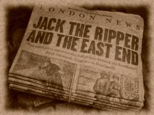 La copertina di un giornale londinese di più di 100 anni fa!