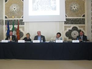 Seduti da sinistra: Andreoli, De Gregorio, Stival, Polci e Marfisi