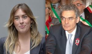 La Ministro Boschi e il consigliere regionale Toniolo