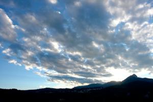 Il cielo sull'Altopiano di Asiago (foto di Lorenzo Brasco)