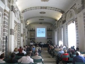 La sala delle conchiglie in villa Contarini di Piazzola sul Brenta.