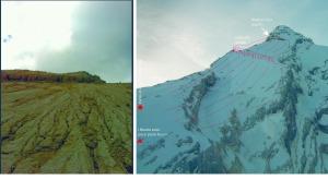Ecco cosa è successo tra il 2 e il 12 novembre 2014 sull'Antelao: la Lasta alta si è completamente staccata e sgretolata