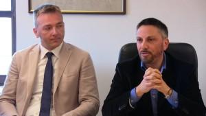 I sindaci di Asiago e Luserna, Roberto Rigoni Stern e Luca Nicolussi Paolazzi