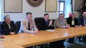 Da sinistra: Kasswalder, Rigoni Stern, Nicolussi Paolazzi, Gilmozzi e  Variati