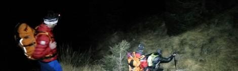 Sulle Dolomiti bellunesi recuperato sano e salvo escursionista incrodato