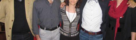 La nuova segreteria della Cgil di Vicenza, con Zanni due donne e due uomini