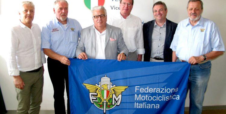 L'Anonima Magnagati per la sicurezza stradale sul Costo a Radio Vicenza con FMI e CONI