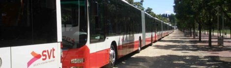 Sono 12 i nuovi bus snodati di SVT tutti ecologici e accessibili