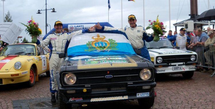 Nei rally storici il Team Bassano sbanca la Finlandia!