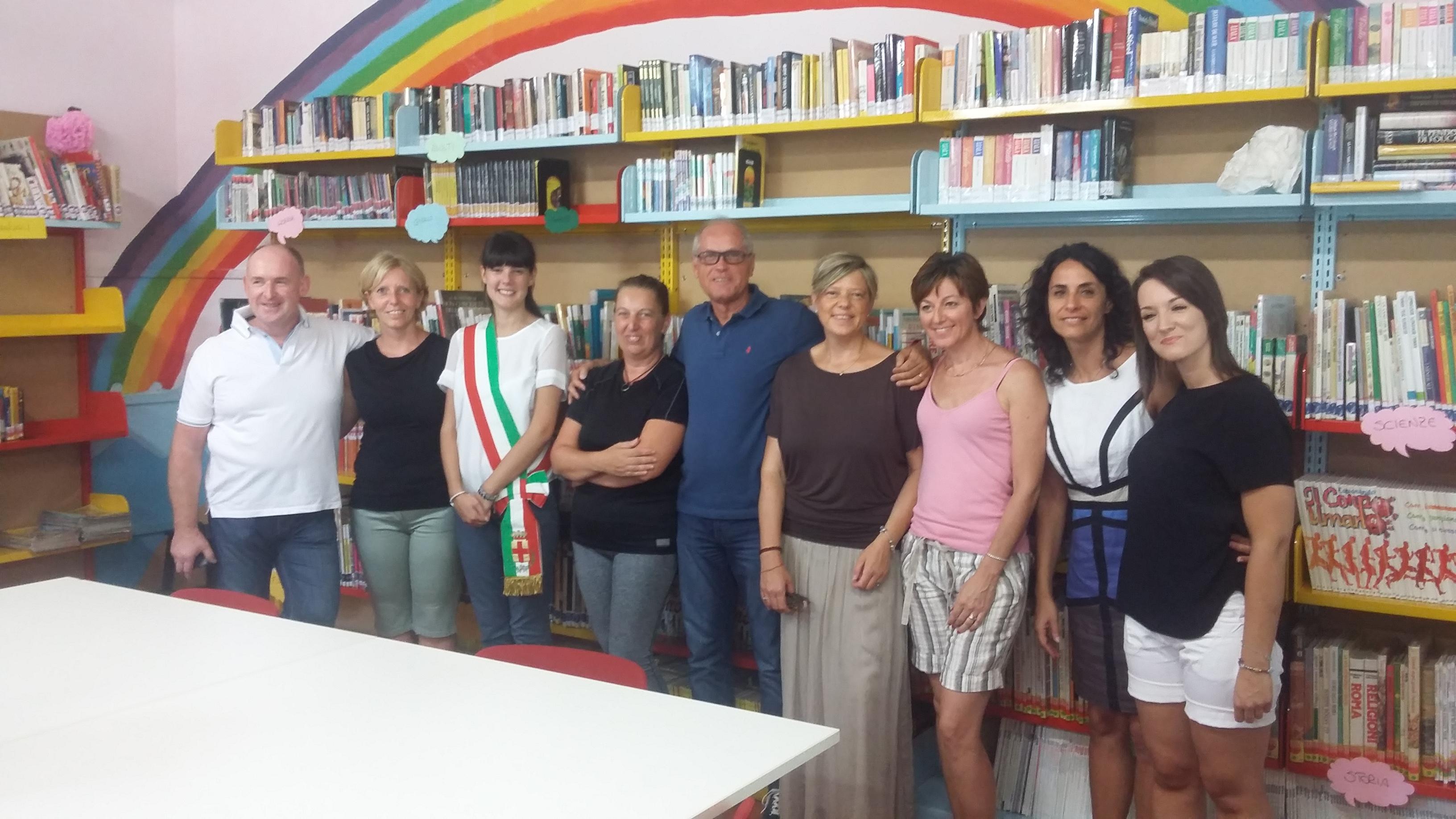 A Schio inaugurata la biblioteca per bimbi di Giavenale