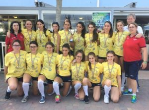 Estate 2016: le under 16 Bisson Gru Vicenza ( Volley S. Paolo)