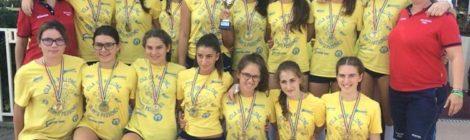 Nel volley femminile la Bisson Gru Vicenza terza nel trofeo nazionale Aics Under 16