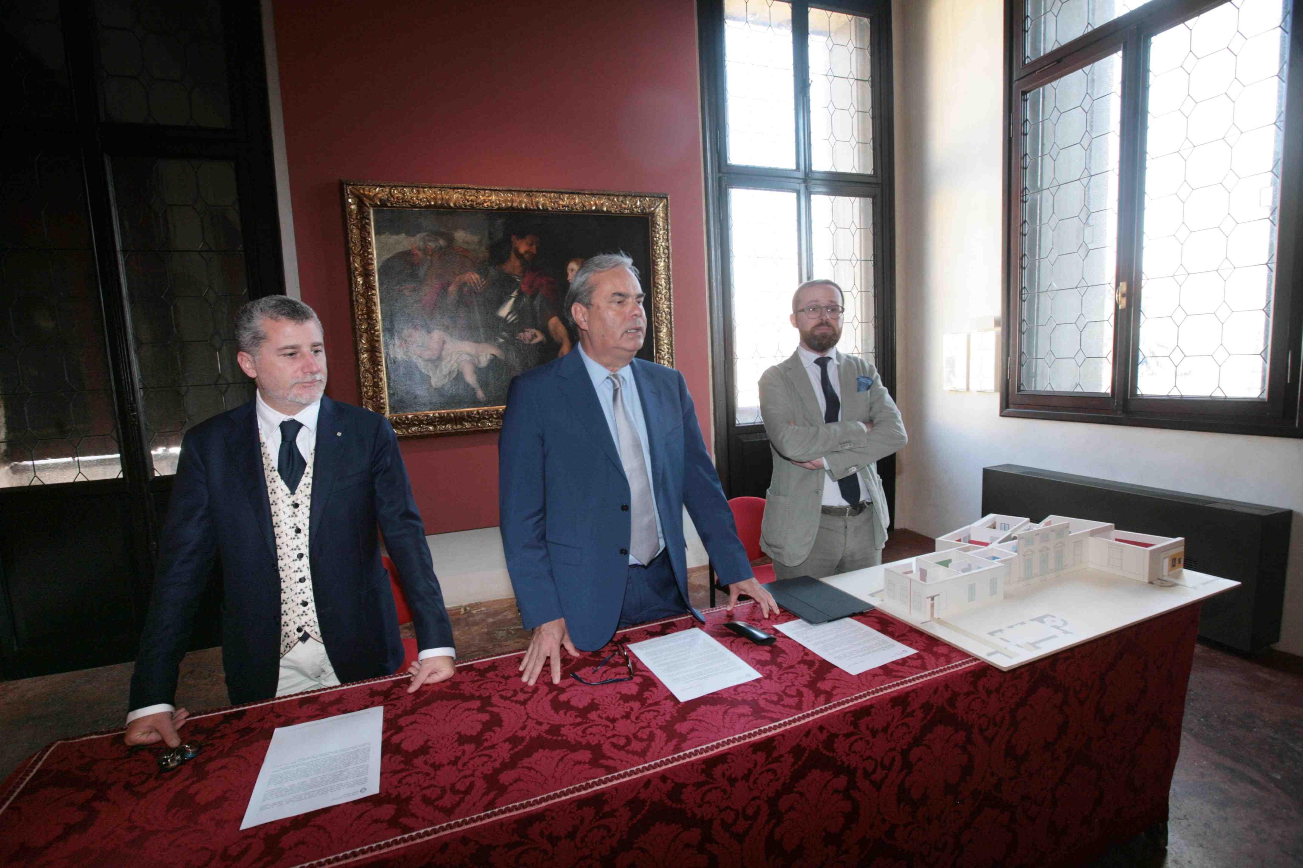 Cantieri al Chiericati e la Cariverona finanzia l'ala ottocentesca