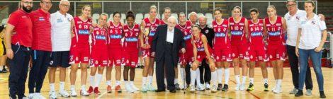 Nel basket femminile il trofeo Velconfin conquistato dalle Vicentine che battono San Martino di Lupari