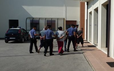 4 arresti a Sandrigo: rubavano vestiti usati destinati ad una onlus