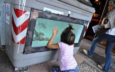 """Acque comuni, e ora i """"pesci artistici"""" tornano in acqua"""