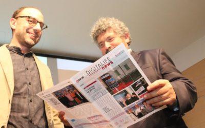 Il giornale di carta in tempo reale al festival del giornalismo digitale di Varese