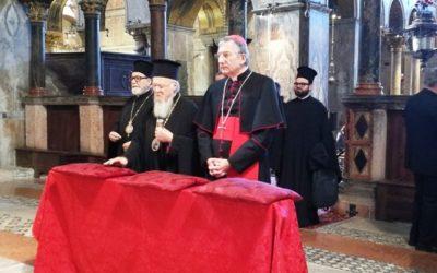Oggi a San Marco i patriarchi di Costantinopoli e Venezia