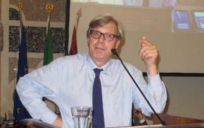 Vittorio Sgarbi nuovo presidente del Mart di Rovereto