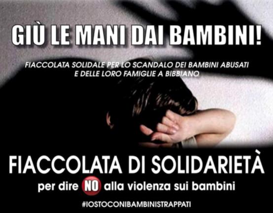 Fiaccolata venerdì 26 luglio a Treviso #iostoconibambin istrappati