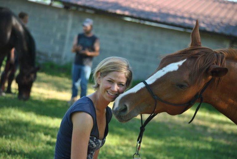 Horsetelling a Verona con la padovana Valentina Galesso