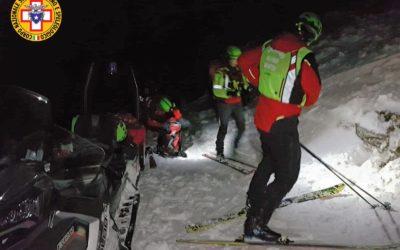 Valanga sul Portule, scialpinista infortunato e recuperato