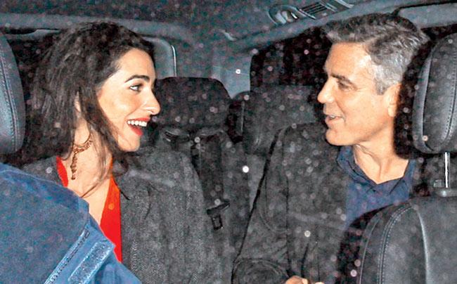 Amal e George sposi a Venezia il 27 settembre 2014