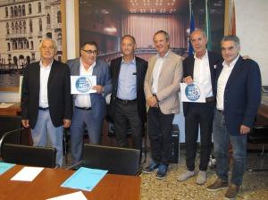 I consiglieri del Gruppo NCD in Consiglio regionale del Veneto. Nella foto manca solo Tesserin.