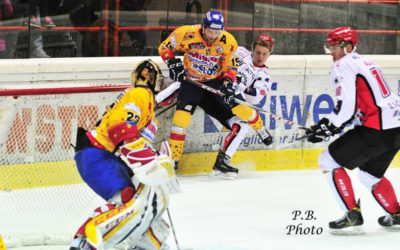 Alps Hockey League, Jesenice-Asiago, 2-1 all'overtime