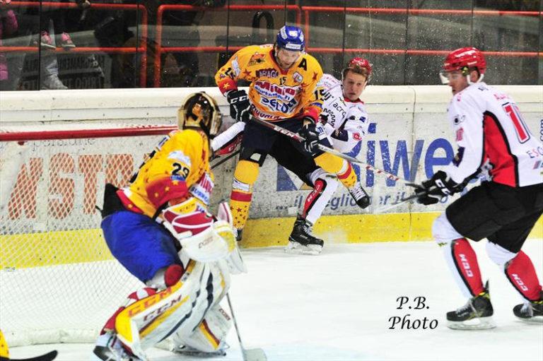 Alps Hockey League, Jesenice-Asiago, 2-1 all'overtime