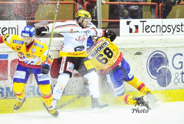 Alps Hockey League, Asiago doma Feldkirch per 5 a 4