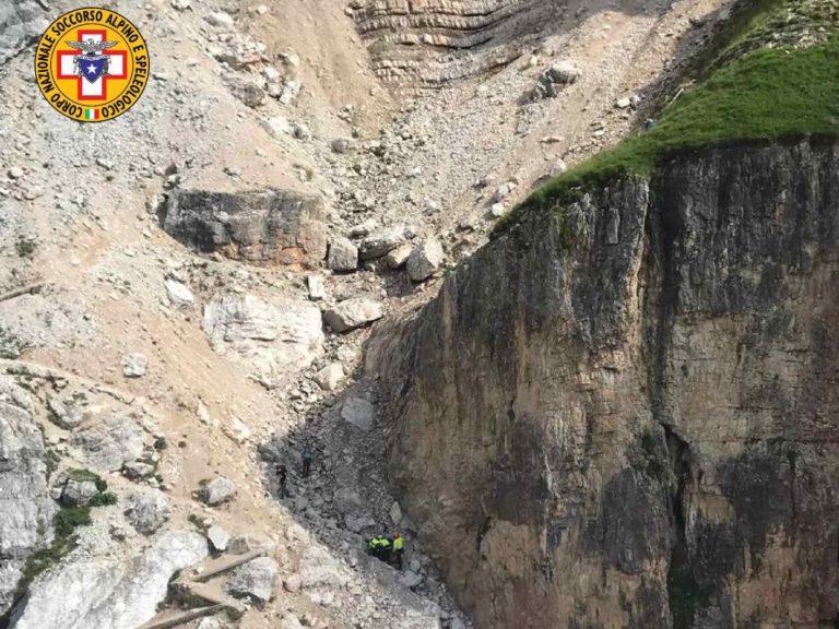 50enne grave dopo caduta di 100 metri sulle Tofane
