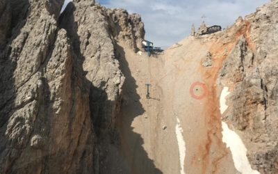 Recuperata in crisi di panico sul ghiaione di Forcella Staunies