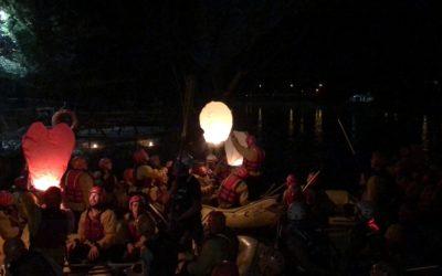 Rafting sul Brenta per tutti sabato 14/9 con l'ultima discesa in notturna