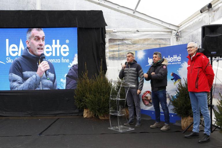 """A GALLIO inaugurata la Ski Area leMelette: """"Primo passo verso il rilancio dell'Altopiano"""" [FOTOREPORTAGE]"""