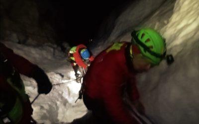 Tre alpinisti australiani recuperati sani e salvi in notturna sulla ferrata del Faloria sopra Cortina