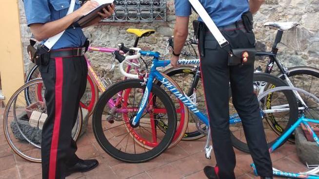 A Dueville carabiniere sorprende un ladro di biciclette veneto
