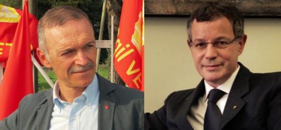 """Vescovi (Confindustria Vi) contro Landini e Zanni (Cgil Vi) risponde: """"attacco inaccettabile e irresponsabile, ma dobbiamo collaborare!"""""""