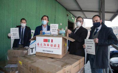 A Padova da Sichuan 50.000 mascherine grazie a Confapi e Fondazione Italia-Cina