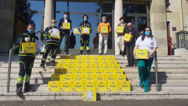 A Montebello volano per solidarietà 200 colombe Melegatti
