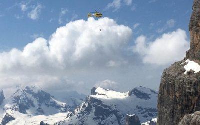 Scialpinista muore sotto una valanga sulla Tofana [VIDEO]