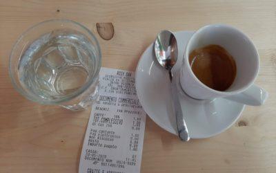 """A Vicenza un caffè un euro al Bar 27: """"noi dalla parte del cliente!"""""""