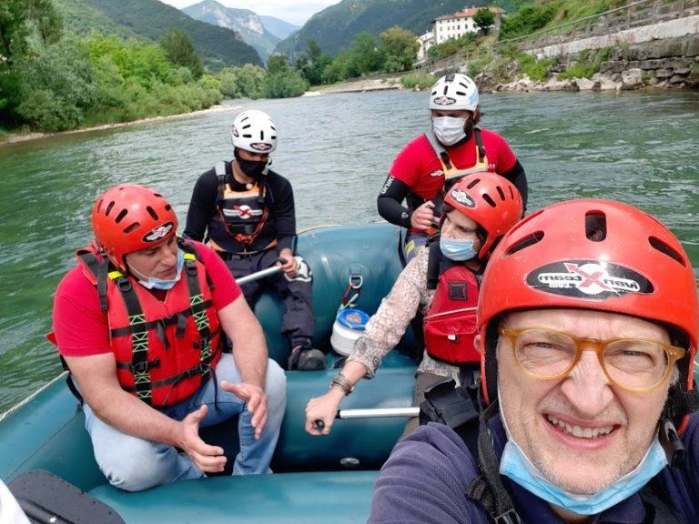 Grotte di Oliero con l'app e il rafting con Ivan Team in Valbrenta [VIDEO]