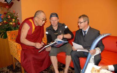 Claudio Leonardi, dal Tibet al Bar 27 con i princìpi del Dalai Lama  [VIDEO]