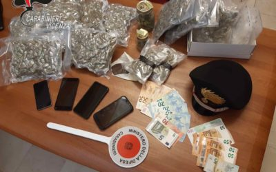 Due italiani arrestati per traffico di droga a Colceresa dopo inseguimento auto