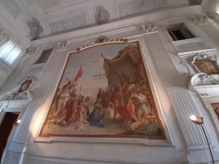 Per i 250 anni di Tiepolo la rete degli affreschi in Cordellina, Zileri, Valmarana, Barbaran Da Porto e Chiericati