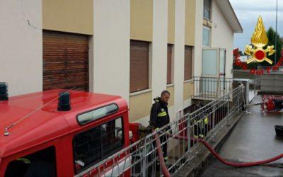 Maltempo a Treviso, oltre 80 interventi dei Vigili del Fuoco